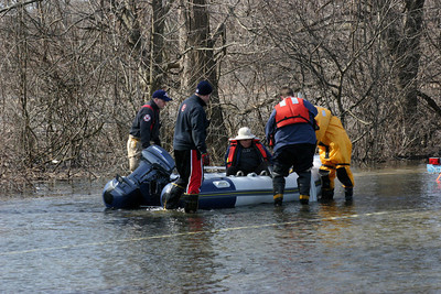 Bolton Rd, Flood Rescue - 2010