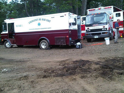 District 8 Task Force Response - Holden Brush Fire - July 2010