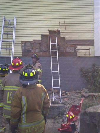 House Fire - Main St. - Oct.,2010