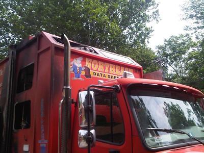 Truck Fire - Mill Street - June, 2010