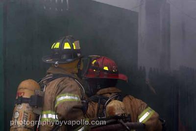 Working Fire, Brockelman Rd. - March 29th, 2010