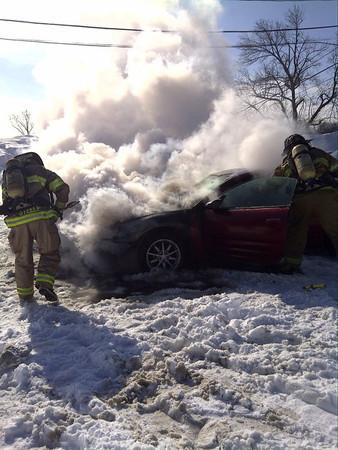 Car Fire - Feb. 2, 2011
