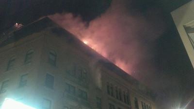 Mutual Aid - Fitchburg 6 Alarm Fire - June 13,2011