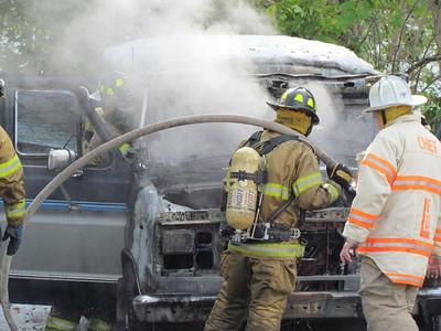 Van Fire - Bolton Rd. - Oct. 31, 2011