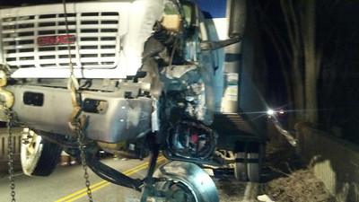 MVA - Car vs. Truck - Feb. 22,2012