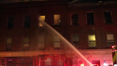 Mutual Aid - Leominster 5+ Alarms - Nov. 25, 2012