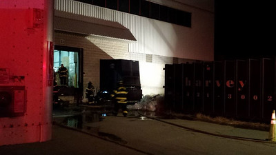 Oct. 11th - Rand Whitney Compactor Fire