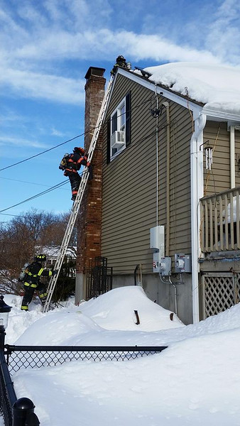 Feb. 23rd Chimney Fire