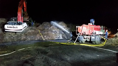 Oct. 7th - Route 70 Mulch Fire