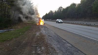 04-20-2016 Rt. 2 Car Fire
