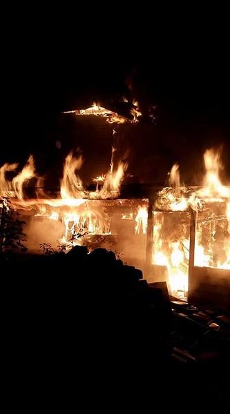 10-27-2016 Mutual Aid Clinton House Fire