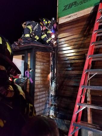 01-12-2017 Bolton Rd. House Fire