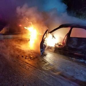 10-3-2017 Rt. 2 Car Fire