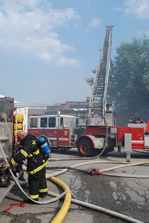 07/25/2009 Baltimore City - 3rd Alarm - 5900 Block Belair Rd.