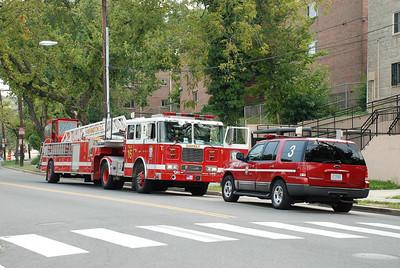 08/18/2008 Washington, DC. - Apartment Fire - 1827 Goodhope Rd. SE