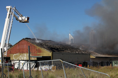 West Perth Fire 16th May 2012