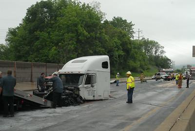 05/28/2014   I-78 Diesel fuel spill