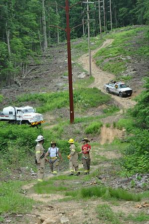 06/06/2014    South Mountain brush fire