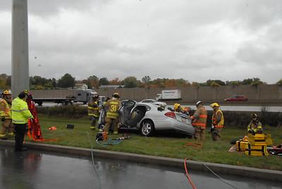 MVA rescue at LV Hospital