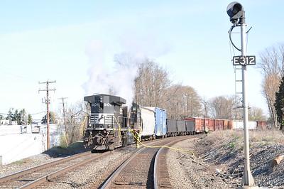 4/7/14 Train Fire (Emmaus Borough)