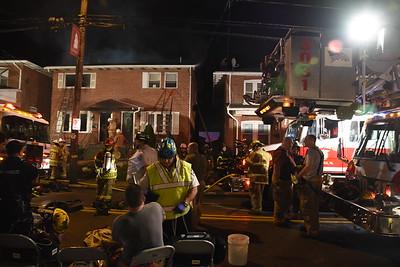 6/3/16 Chestnut St Fire (Emmaus Borough)