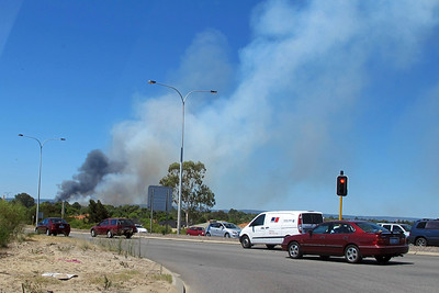 Piara Waters Bush Fire - Perth WA