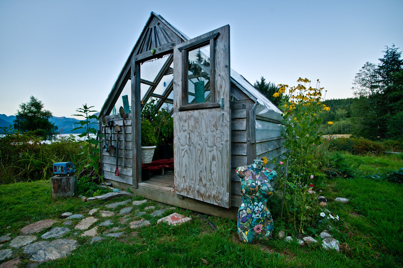 Shoal Bay greenhouse