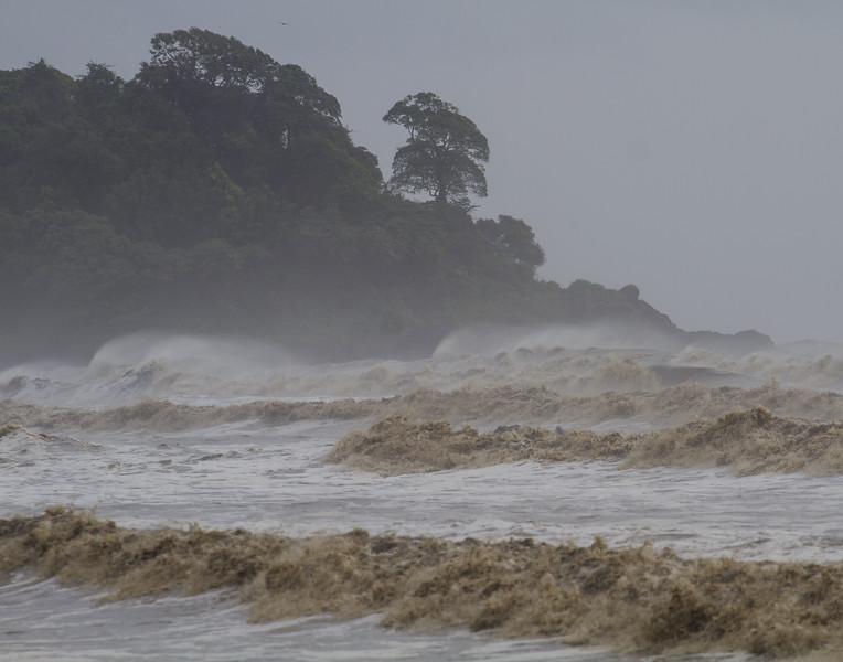 Before the Cyclone. Goa, India.
