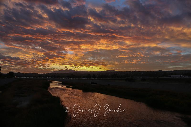 Multi-colored Sunrise