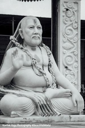 Sri Raghavendra Guru, Mantralayam, Andhra Pradesh, India