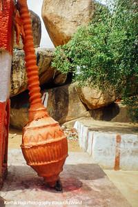 Panchamukhi Hanuman Temple, Mace, Mantralayam, Andhra Pradesh, India
