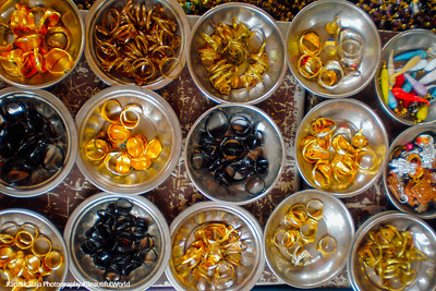 Market, Mantralayam, Andhra Pradesh, India