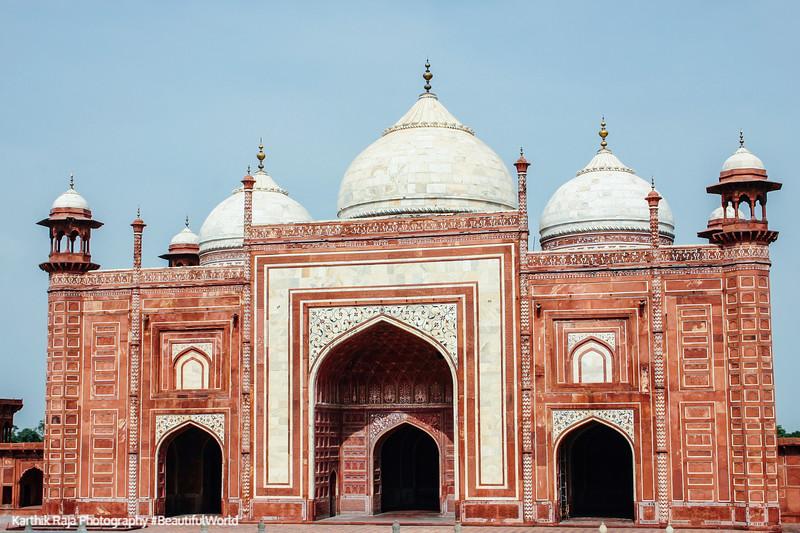 Mosque, Taj Mahal, Agra, India