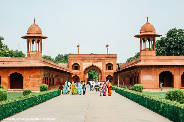 Entrance, Taj Mahal, Agra, India