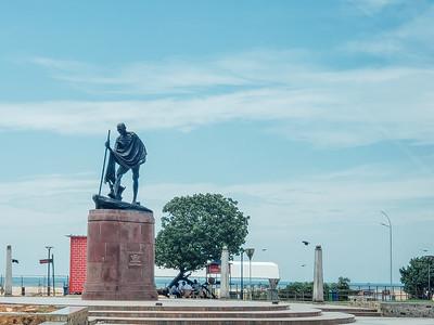 Mahatma Gandhi Memorial, Marina Beach, Chennai, Tamil Nadu