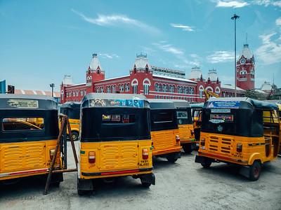 Puraitchi Thalaivar Dr. MG Ramachandran Central Railway station, Chennai, Tamil Nadu