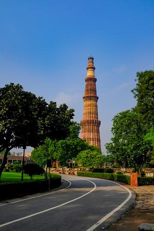Qutb Minar, Qutb Minar Complex, Delhi, India 2019