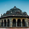The Isa Khan tomb against the sky, Humayun's tomb complex, Delhi