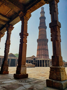 Framed, Naturally, Qutb Minar Complex, Delhi, India 2019
