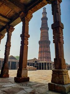 Framed, Naturally, Qutb Minar Complex, Delhi, India 2019