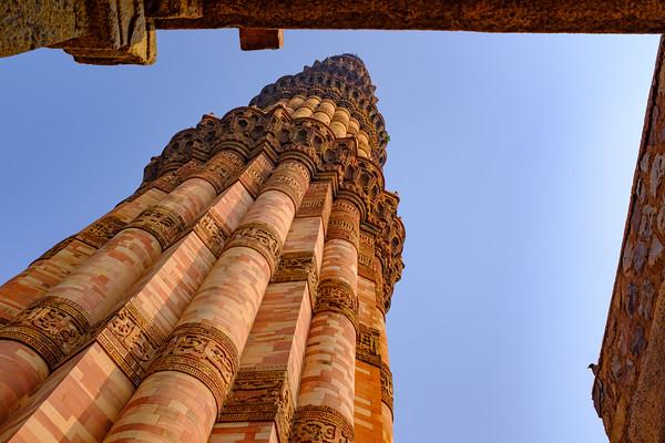 Qutb slants, Qutb Minar Complex, Delhi, India 2019