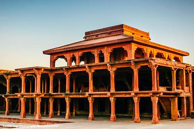 Panch Mahal, Fatehpur Sikri, India