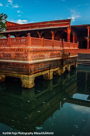 Anup Talao Plateform, Fatehpur Sikri, India