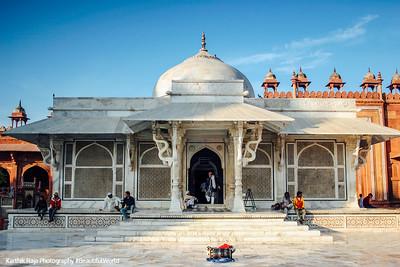 Tomb of Salim Chishti, Fatehpur Sikri, India