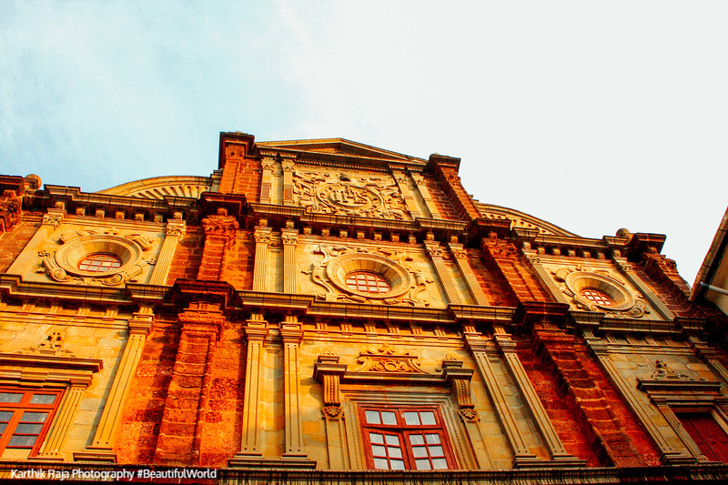 Exteriror - Basilica de Bom Jesus, Goa, India