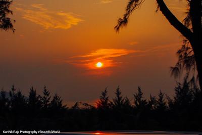 Sunset, Goa, India