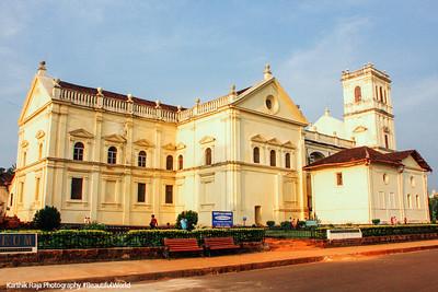 Sé Cathedral of Santa Catarina, Goa, India