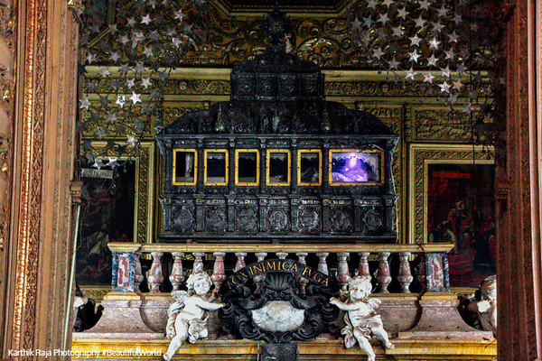 Relics of Saint Francis Xavier, Basilica of Bom Jesus, Goa, India