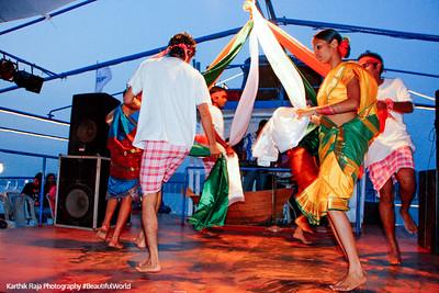 The dance of the knot, Santa Monica Cruise, Mandovi River, Panjim, Goa, India