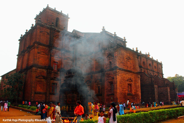 Basilica de Bom Jesus, Old Goa, Goa, India
